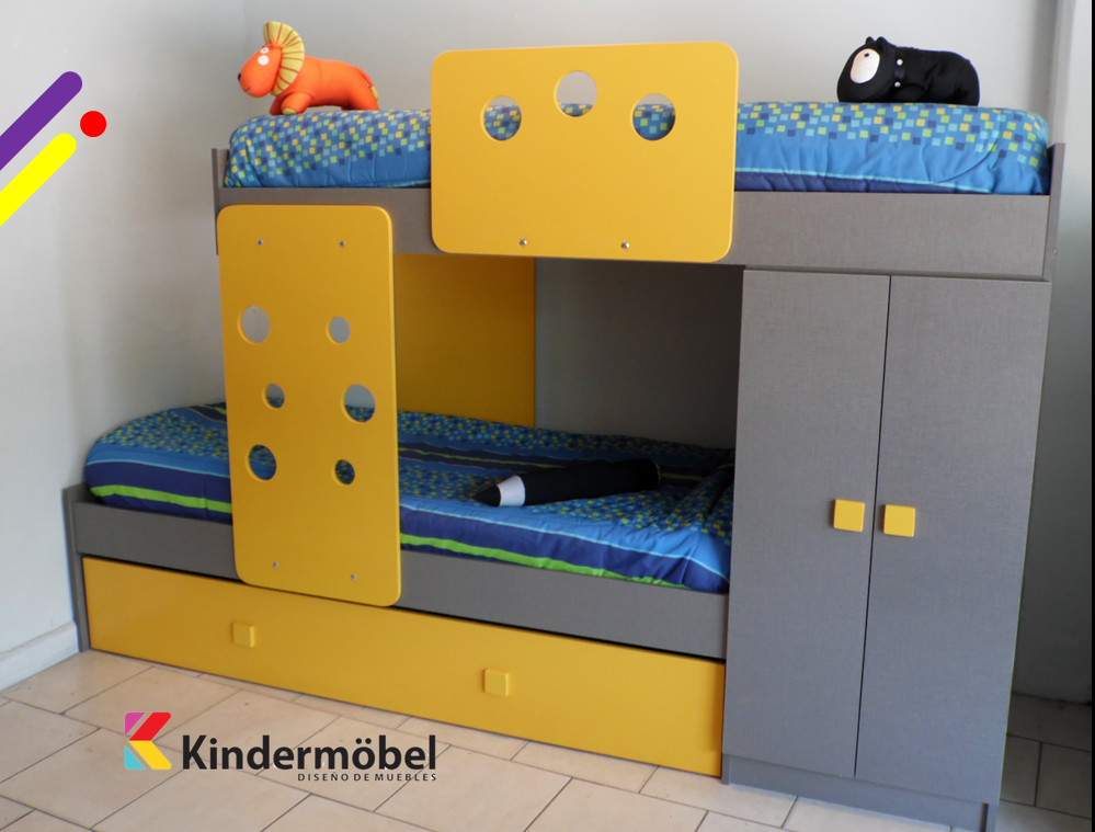 "Kinder Mobel Cama Tren ""MC"""